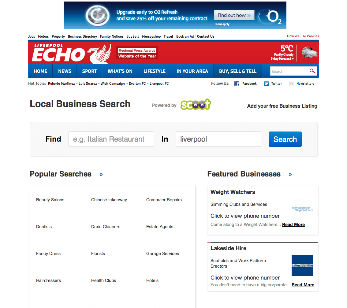 The Liverpool Echo Business Directory